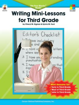 Writing Mini-Lessons for 3rd Grade: The Four-Blocks Model