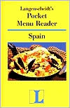 Langenscheidt Pocket Menu Reader Spain