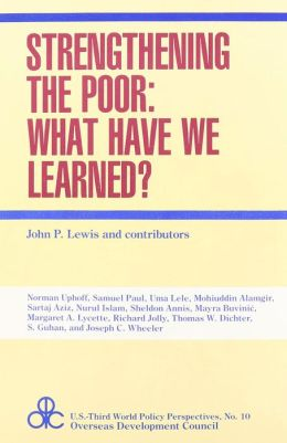 Strengthening the Poor: What Have We Learned?