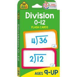 Division 0-12 Flashcards