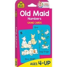 Old Maide-Game Cards