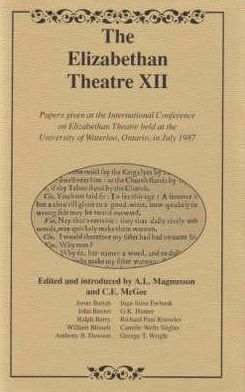 The Elizabethan Theatre Vol. XII