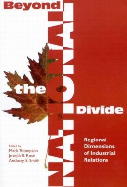 Beyond the National Divide: Regional Differences in Industrial Relations