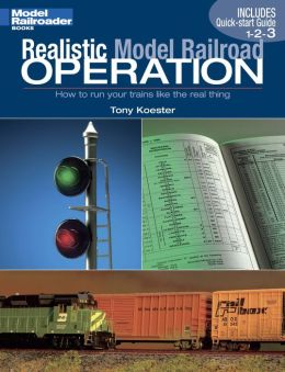 Realistic Model Railroad Operation: How to run your trains like the real thingl (PagePerfect NOOK Book)