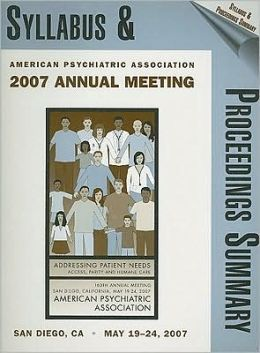Annual Meeting Syllabus 2007