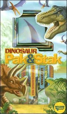 Dinosaur Pak and Stak: A Building Blocks Dino Game for Preschoolers