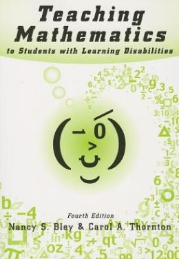 Teaching Mathematics to Students with Learning Disabilities