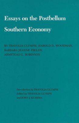 Essays on the Postbellum Southern Economy
