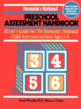 Humanics National Preschool Assessment Handbook