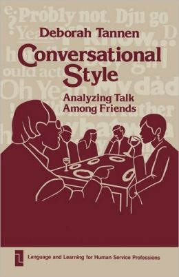 Conversational Style: Analyzing Talk Among Friends