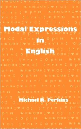 Modal Expressions in English