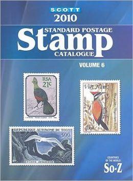 Scott Standard Postage Stamp Catalogue, Volume 6: Countries of the World, Solomon Islands-Z