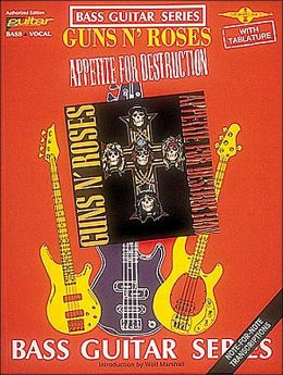 Guns n' Roses - Appetite for Destruction: Bass Guitar