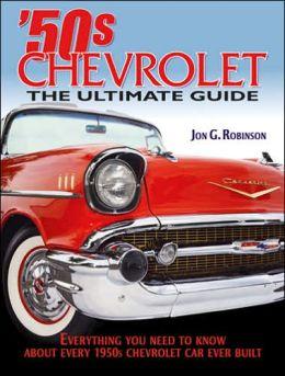 Standard Catalog of 1950s Chevrolet Jon G. Robinson