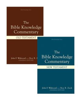 The Bible Knowledge Commentary (2 Volume Set)