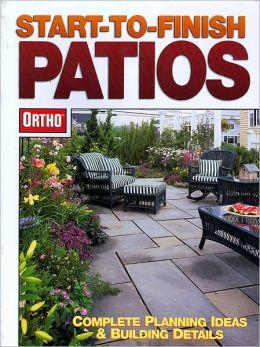 Ortho's Start to Finish Patios