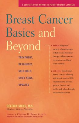 Breast Cancer Basics and Beyond: Treatments, Resources, Self-Help, Good News, Updates