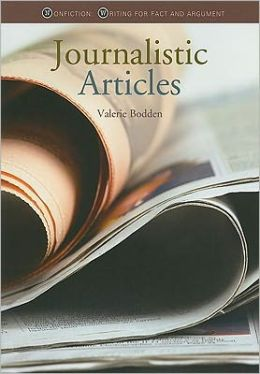 Nonfiction Writing: Journalistic Articles