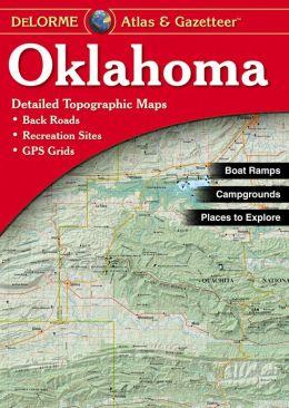 Oklahoma Atlas & Gazetteer