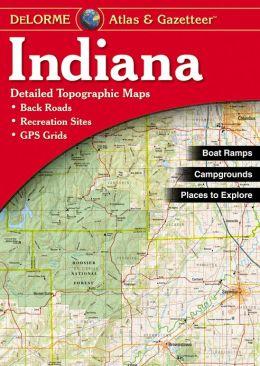 Indiana Atlas & Gazetteer