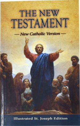 Saint Joseph Pocket New Testament: New American Bible (NAB), red softcover