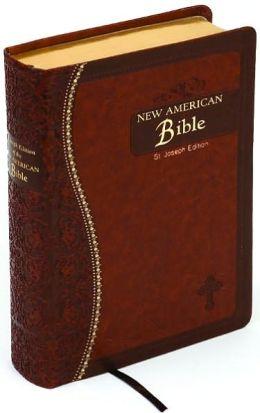 St. Joseph Medium Size Gift Bible-NABRE