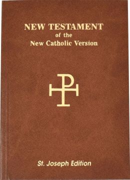 Saint Joseph New Testament, Vest Pocket Edition: New American Bible (NAB), brown imitation leather