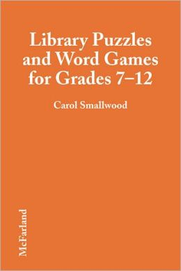 Library Puzzles and Word Games for Grades 7-12