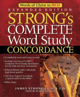 Strong's Complete Word Study Concordance