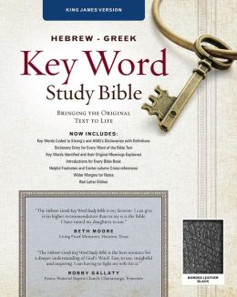 Key Word Study Bible KJV: Bonded Black