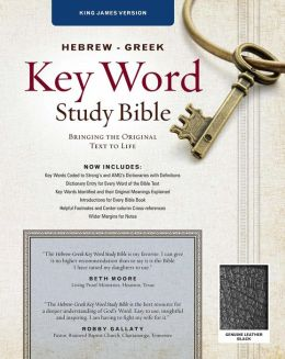 Key Word Study Bible KJV: Genuine Black