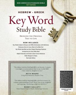 Key Word Study Bible NASB: Bonded Black