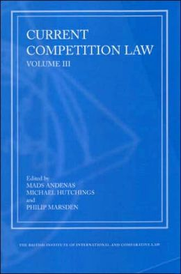 Current Competition Law