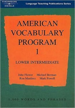 American Vocabulary Program 1: Lower Intermediate