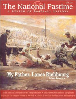 The National Pastime, Volume 22: A Review of Baseball History