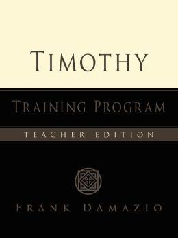 Timothy Training Program
