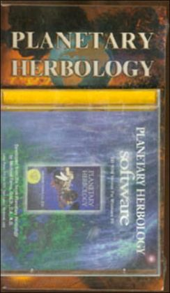 Planetary Herbology Book with Windows 95 Program