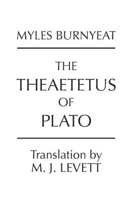 Theaetetus of Plato