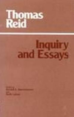 Inquiry and Essays