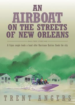 An Airboat on the Streets of New Orleans