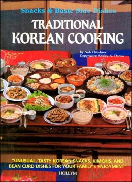 Traditional korean cooking snacks and basic side dishes for Traditional korean kitchen
