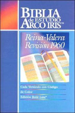 La Biblia de Estudio Arco Iris: 1960 Reina-Valera Revision (Rainbow Study Bible)