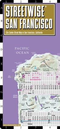 Streetwise San Francisco Map - Laminated City Center Street Map of San Francisco, California - Folding Pocket Size Travel Map With Metro (2014)