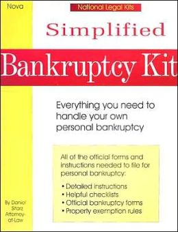 Simplified Bankruptcy Kit (National Legal Kits Series): Everything You Need to Handle Your Own Personal Bankruptcy