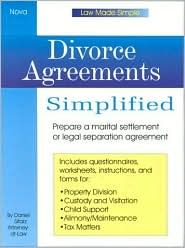 Divorce Agreements Simplified ( Law Made Simple Series)