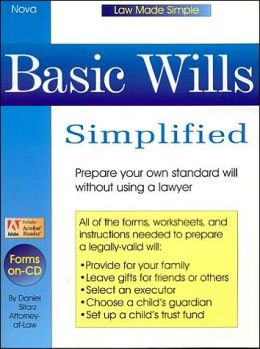 Basic Wills Simplified ( Law Made Simple Series)