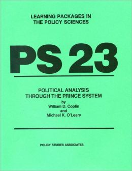 PS 23 - Political Analysis through the Prince System