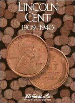 Lincoln Cent 1909 - 1940 Folder