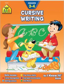 Cursive Writing: Grades 3-4