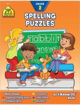 Spelling Puzzles: Grade 2